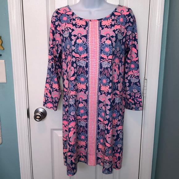 Lilly Pulitzer Dresses & Skirts - Lilly Pulitzer Marlowe Print Pima Shift Dress